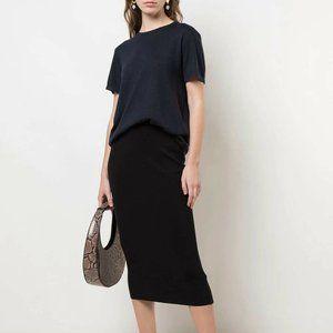 CO BNWOT short sleeve knit top Medium cashmere